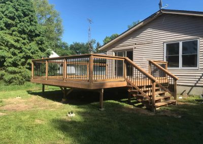 New Deck Hamilton Gadoury Contracting & Carpentry