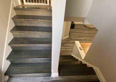 Hamilton House Basement Stairs Renovation